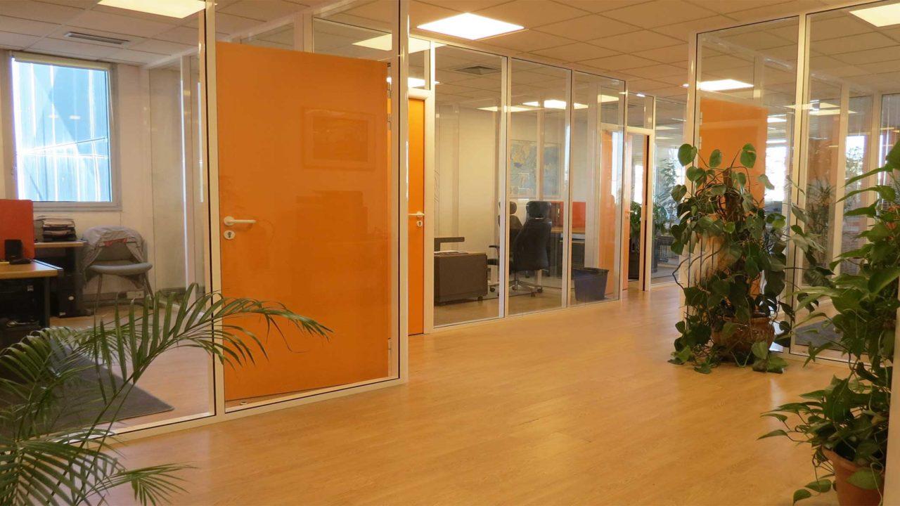 espaces de coworking en bureaux fermés